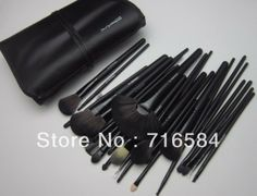 Makeup 32pcs Professional Cosmetic Brushes Set with  Leather Cover. M &amp