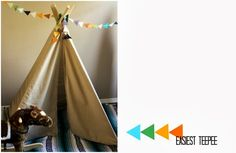 Easiest Teepee (Our Adoption Story)