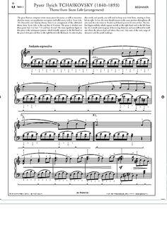 Theme from Swan Lake >>> KLICK auf die Noten um Reinzuhören <<<