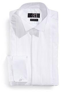 White tuxedo shirt   Simons #maisonsimons #le31 #giftideas #christmas