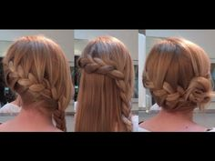 10 Easy Quick Everyday Hairstyles for long hair : Side French Braid Edition - YouTube