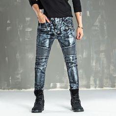 Pants Logical Men Slim Fit Urban Straight Leg Trousers Casual Pencil Jogger Long Pants Size Striped High Street Hot Pants For Man