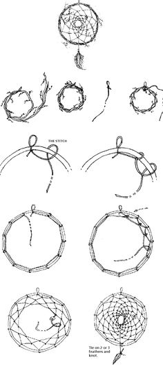 Summer Camp - AG doll craft: How to weave a dreamcatcher