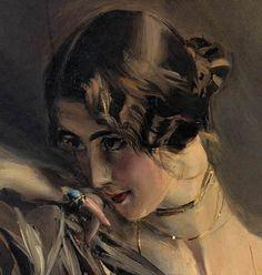 Giovanni Boldini Részlet Cleo de Merode, 1901
