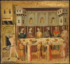 Master of the Life of Saint John the Baptist (Italian, active first third 14th century). The Feast of Herod and the Beheading of the Baptist, ca. 1300-1330. The Metropolitan Museum of Art, New York. Robert Lehman Collection, 1975 (1975.1.103)