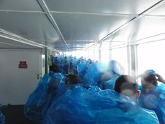 The best way to experience Niagara - on board The Maid of the Mist - and get wet