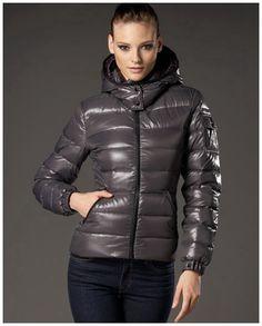 Moncler Femme Vest Fourreau Gris - moncler sales