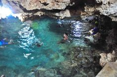 Spring Water Pool in Enchanted Cave Famous Lighthouses, Vacation List, Animal Medicine, Spring Nature, Beach Holiday, Oh The Places You'll Go, Philippines, Travel Guide, Adventure