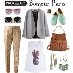 """""""Bonjour Paris"""" by thestreetsiknow on Polyvore"""