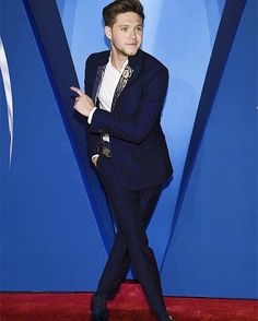 Niall for an awards show last night