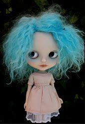 Custom doll by Zaloa, with my favourite haircolor.