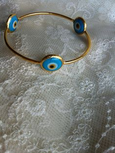 Love this evil eye bangle