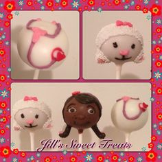 #DocMcStuffins  www.jillssweettreats.etsy.com #cake #cakepops #celebration #baking #elegance #awesome #cakepopart #foodie #stripes #foodart #foodista #ladies #foodsgram #foodlover #foodtography #foodforfoodie #goodies #instafood #cakeball #tasty #treats #pink #scroll #sweets #sweettooth #cakelove #cakepoplove #cakepopcraze #cakeswag  #bling