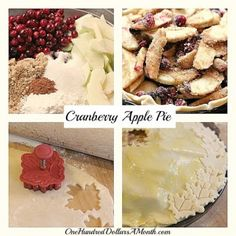 Cranberry Apple Pie Thanksgiving Recipe