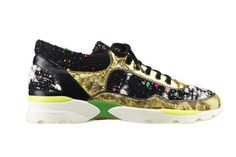 Sneakers Chanel Autunno -Inverno 2014 by Karl Lagerfeld: bouclè-mania - I Love Sneakers