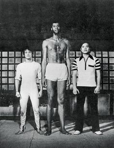 Bruce Lee, Kareem Abdul-Jabbar, acteur inconnu dans Game of Death