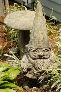 Can't agree on a large statue for our backyard. Maybe if we downsize to something like this little guy, we can...