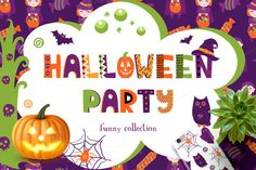 Halloween Party Collection by Qilli on @creativemarket