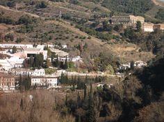 Sacromonte, desde la Alhambra