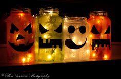 Halloween tök lámpás - Zöld sziget