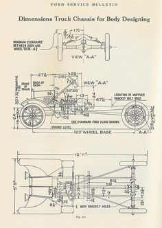 Model T Ford Forum: Firewall distance and pedal location question