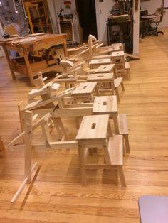 Ikea hack shavinghorses