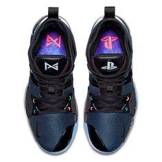 b24c6cd655d Nike PG-2 PlayStation colorway Sneaker Bar