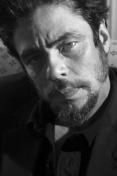 Benicio del Toro.  Nice.  Great actor and director.
