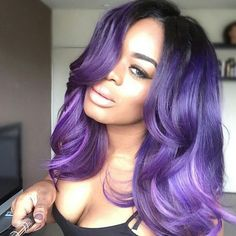 Online Shop Ombre hair color sew in human hair bundles and closure and frontal for brunettes colored hair for black off promotion factory cheap price,DHL worldwide shipping, store coupon available. Love Hair, Gorgeous Hair, Weave Hairstyles, Pretty Hairstyles, Black Hairstyles, Color Fantasia, Lace Closure, Curly Hair Styles, Natural Hair Styles