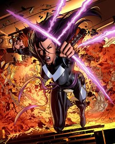 PYSLOCKE X-Force •Mike Deodato Jr.