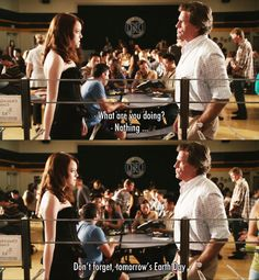 What are you doing? ~ Easy A (2010) ~ Movie Quotes