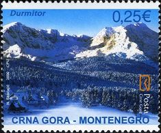 Stamp%3A%20Durmitor%20National%20Park%20(Montenegro)%20(Tourism%20in%20Montenegro)%20Mi%3AME%20122%2CYt%3AME%20133%20%23colnect%20%23collection%20%23stamps