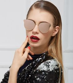 91129f5830 2016 New Fashion Alloy Wrap Mirror Frame Sunglasses Cosy Shades Women Brand  Designer Eyewear Sun-