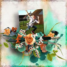 """""""Welcome Back"""" new GAB by Angels Designs Exclusively on SBB http://scrapbookbytes.com/store/digital-scrapbooking/grab-a-byte/?sort=date_added&sort_direction=0&mid=252"""