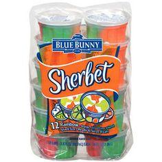 ... Rainbow Orange Lemon Lime & Cherry 3 Oz 12 Ct Sherbet Cups, 3 Oz More