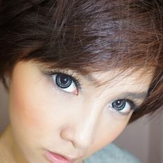 Give yourself a stunning appearance with GEO Angel Gray Circle Lenses. WOW just WOW!