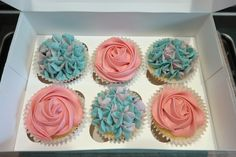 Cupcakes & Coffee! www.cupcakesncoffee.co.uk #cupcakes #baker #bakery #homemade #cornwall #southwest #tasty #cupcake #cupcakeideas #compote #spring #summer #vanilla #mum #mother #mothersday #gift #giftideas #selectionbox #giftbox #rose #hydrangea #floral #flowers #pink #pastel