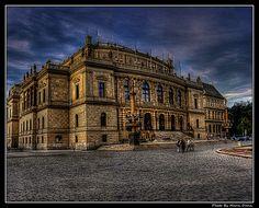 awesome Prague Rudolfinum Theatre