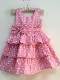 Resultado de imagem para bebê vestido poá