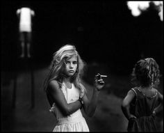 Sally Mann'Candy Cigarette' 1989 from the series Immediate Family