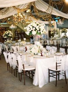 Decorating your reception #inspiration