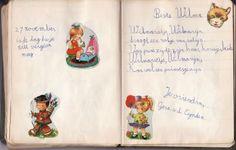 Poeziealbum. Deze was niet van mij (ik heb de mijne nog steeds), maar wel grappig dat deze ook van een Wilma was.