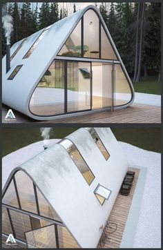 cool Modern a frame Read More by carlgustavs. cool Modern a frame Read More by carlgustavs. Cabin Design, Tiny House Design, Modern House Design, Design Design, Home Design, Modern Tiny House, Design Concepts, Design Trends, A Frame Cabin