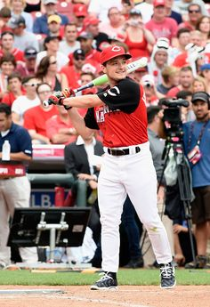 Josh Hutcherson attends the 2015 MLB All-Star Legends And Celebrity Softball Game at Great American Ball Park on July 12, 2015 in Cincinnati, Ohio.