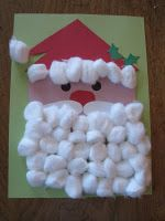 Making this with J to get her pumped for brunch with Santa. This looks nice and easy for her to do, and she loves any excuse to glue things on paper.