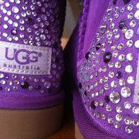Orginal Swarovski crystal Ugg boots
