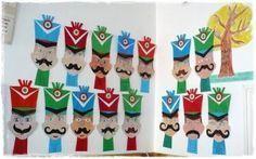 huszár Balerina, Kindergarten Teachers, Advent Calendar, Christmas Holidays, Art Projects, Techno, Crafts For Kids, Lego, March