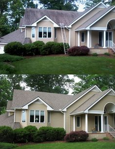 Roof Cleaning Roof Cleaning, Garage Doors, Shed, Outdoor Structures, Outdoor Decor, Carriage Doors, Barns, Sheds