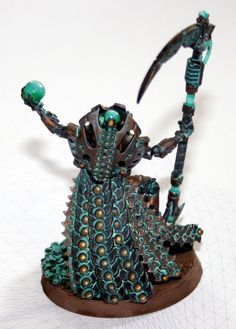 Necron Overlord rear by Dark-Dreaming