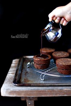 Mini Sachertorte (Torta Sacher) | PANEDOLCEALCIOCCOLATO
